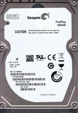 "Seagate FreePlay ST1500LM003 1.5TB 1500GB 2.5"" SATA Internal Hard Drive TiVo"