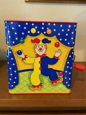 Jack-In-The-Box Toy Jester Jack In The Box 1997 Schylling Vintage Collectible NI