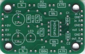 KMTech CMoy Headphone Amplifier 55mm x 35mm PCB DIY