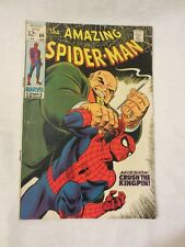AMAZING SPIDER MAN MARVEL COMICS ISSUE #69 FEBRUARY 1969 VERY GOOD CONDITION