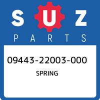 09443-22003-000 Suzuki Spring 0944322003000, New Genuine OEM Part