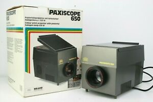 BRAUN PAXISCOPE 650 EPISCOPE PROJECTOR for Projecting Photographs Boxed & minty!