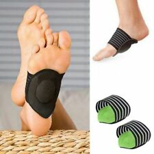 1Pair Foot Heel Pain Relief Plantar Fasciitis Insole Pads Arch Support Insert