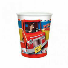POSTMAN PAT CHILDRENS BIRTHDAY PARTY DISPOSABLE CUPS 8 PACK NEW