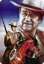 Cowboy John Wayne / Parking Sign / 8x12 metal sign