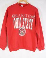 Vintage Ohio State Buckeyes 80s Sweatshirt - Size XL see measurements red