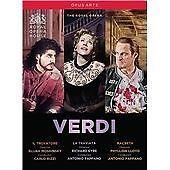 Verdi:Operas Box set Il trovatore/La traviata/Macbet] Royal Opera House DVD New