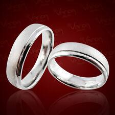 2 Trauringe 925 Silber Gravur+Etui Eheringe Verlobungsringe Partnerringe pr14