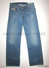 DIESEL Jeans QURATT Mens 31 x 29 Faded Denim Relaxed DISTRESSED Made in ITALY