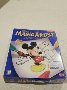 Disney Magic Artist for PC/Mac NEW SEALED BIG BOX