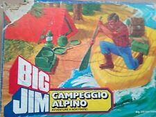 BIG JIM Campeggio Alpino Mattel