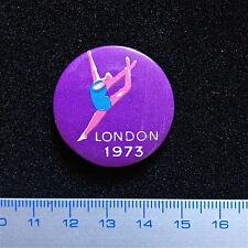 Pin Of Royal Ballet Of London. 1973. Original Badge Metal. Very Rare