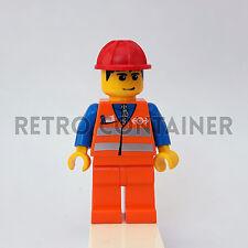 LEGO Minifigures - 1x trn132 - Train Worker - Treni Omino Minifig Set 7898
