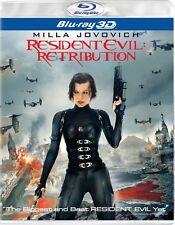 Resident Evil - Retribution 3D / 2D (Blu Ray, 2012, 2-Disc)
