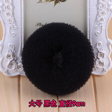 Magic Blonde Donut Women Hair Ring Bun Former Shaper Hair Styler Maker Tools