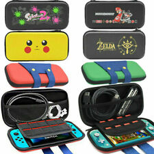 Nintendo Switch Lite Case For Mario Pokemon Zelda Travel Bag Carry Game Storage