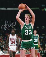 Larry Bird Autographed Signed 8x10 Photo ( HOF Celtics ) REPRINT