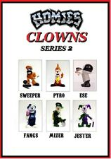 Homies Clowns Series 2 - 6 Figures set  w/ gray Ese