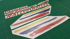 Peugeot 106 Rallye decals stickers graphics replacement restoration 1.6 MK 2 MK2