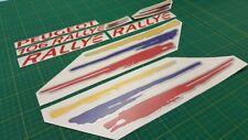 Peugeot 106 Rallye decals stickers graphics replacement restoration 1.6 MK 2 MK2