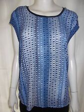 JUST JEANS Womens sleeveless Blue top size XS