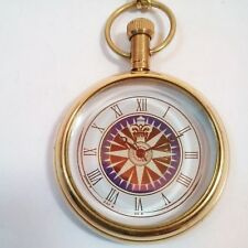 Vintage Antique Brass Pocket Watch Nautical Collectible & Nautical Clock