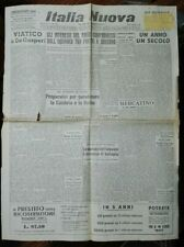 WW2*MESSAGGIO DI DE GASPERI AGLI ITALIANI IN AFRICA*N.4110
