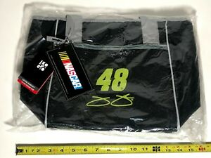 #48 Jimmie Johnson NASCAR 16 Can Insulated Folding Cooler Tote NEW Ice Chest