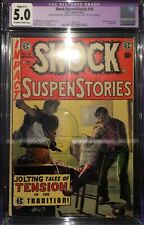 Shock SuspenStories #16 CGC 5.0 Dupe Editorial Rape Story EC Comics Pre Code