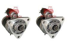 2x MTS Belarus Anlasser 50 52 80 82 820 920  Getriebeanlasser 12 V 3,0 kW