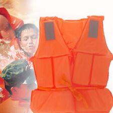 Orange Adult Foam Flotation Swimming Life Jacket Vest With Whistle Jacket