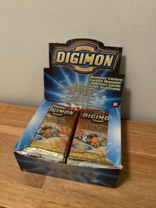 X24 Digimon Cards Animated Series 2 Sealed Booster Packs With Box New English