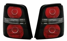 BLACK REAR TAIL LIGHTS LAMPS FOR VW TOURAN 1T 3/2003-07/2010 MODEL