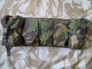 Arktis ALLEN BELT vest COMBAT assault DPM Camo Webbing Chest Rig ARMY BUSHCRAFT