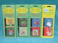 New Vintage 1994 Mini Little Little Golden Books 13654-03 4 Christmas Book Set