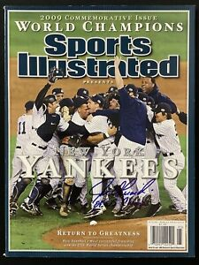 Joe Girardi Sports Illustrated Mag 11/11/09 NO LABEL Yankees Baseball Auto JSA