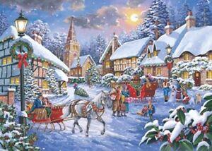 Jingle Bells House of Puzzles HOP MC531 1000 Piece Jigsaw Puzzle