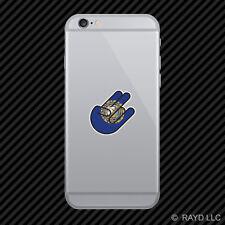 New Hampshire Shocker Cell Phone Sticker Mobile hampshirite NH