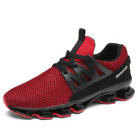 Men Blade Running Sneakers Antiskid Outdoor Breathable Hiking Casual Sport Shoes