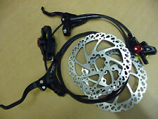 Clarks M2 Hydraulic Disc Brake Set Front & Rear 160mm Mineral Oil Bike Cycle