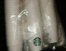 lot of 1000 Starbucks Paper Coffee Cups 4oz Espresso Sample Size Cups sealed