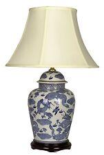 Large Oriental Ceramic Porcelain Table Lamp (M7398) - Chinese Mandarin Style
