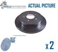 2 x NEW BLUE PRINT REAR BRAKE DISCS SET BRAKING DISCS PAIR OE QUALITY ADM54388