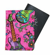 PASSPORT COVER/FOLDER/WALLET - ROCK N ROLL crafted by Graggie Australia*GA