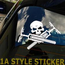 MTB pegatinas Skull sticker decal downhill fullyrahmen streetrahmen horquilla sistema LRS