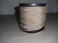 "1 ft .1574"" dia. (4mm) Braided Speaker Tinsel Lead Wire  6700 watts"