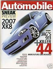 Automobile Mag - Mar 2005 - Jaguar XK8 - Shelby GR-1 - BMW 760i - Mazda RX-8