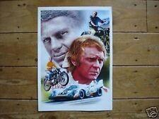 Steve McQueen Le Mans Great Escape Poster Artwork