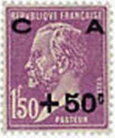 """FRANCE N°251 """"AU PROFIT DE LA CAISSE D'AMORTISSEMENT, +50 C S 1 F"""" NEUF xTB"""