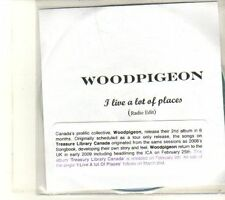 (DT638) Woodpigeon, I Live A Lot Of Places - 2009 DJ CD